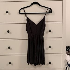 Urban Outfitters Dark Grey Romper